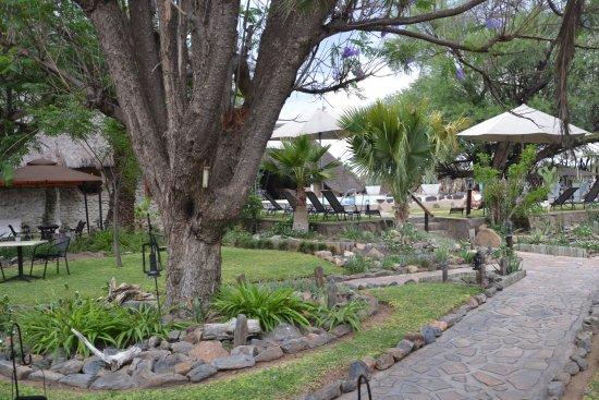 Okahandja, Namibia: gepflegte Lodge