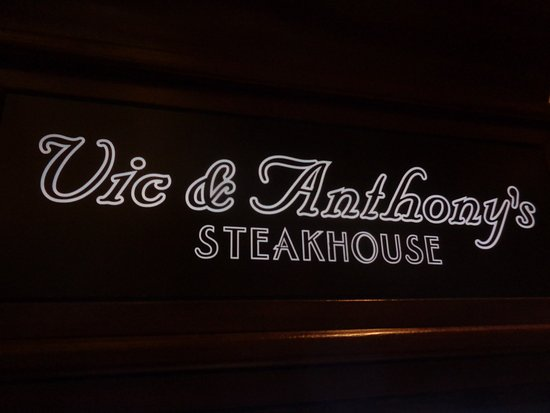 Vic & Anthony's Steakhouse - Las Vegas: front sign
