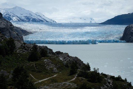 Torres del Paine National Park, Chili : Grey Gletscher