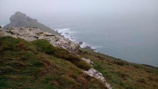 Zennor, UK: The gurnard's head