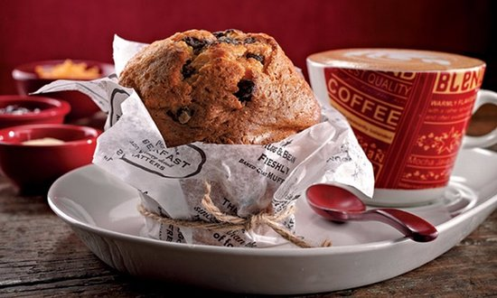 Centurion, South Africa: Mugg & Bean Muffin