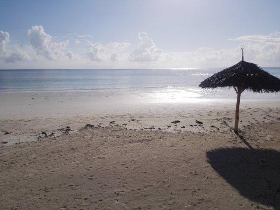 Il mare davanti Villa Dida