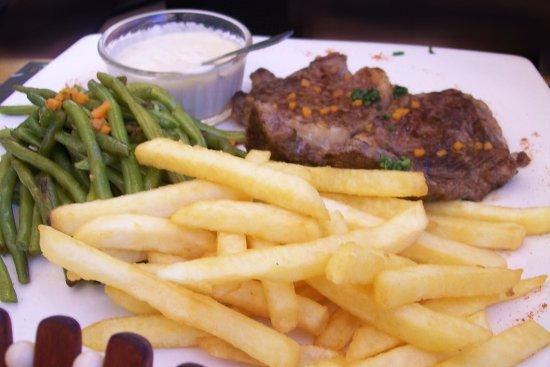 The Best Cafe: The tasty NZ Entrecôte.