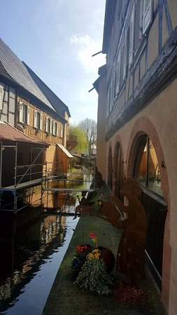 Wissembourg - on the little river Lauter close to the border between France and Germany