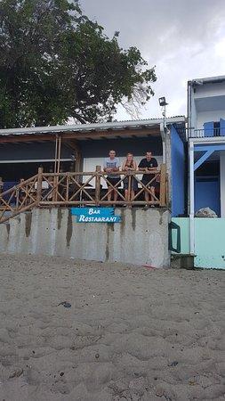 Hotel Bambou: terrasse du restaurant