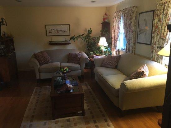 Δυτικό Barnstable, Μασαχουσέτη: Lounge Area.