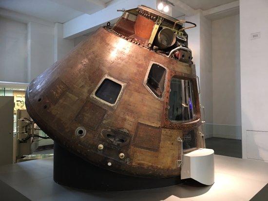 Apollo 10 capsule - Picture of Science Museum, London ...