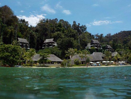 Pulau Gaya, Malaysia: View you see as you arrive on Gaya Island