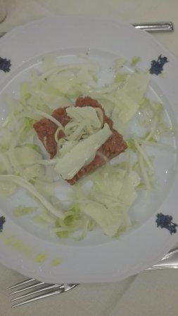 carne battuta al coltello