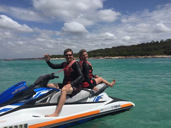 Meelup beach, with Dunsborough jetski tours