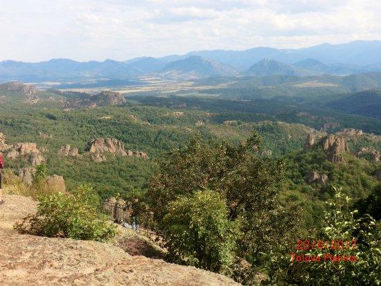 Belogradchik, Bulgaria: Landschaftsblick von der Burg