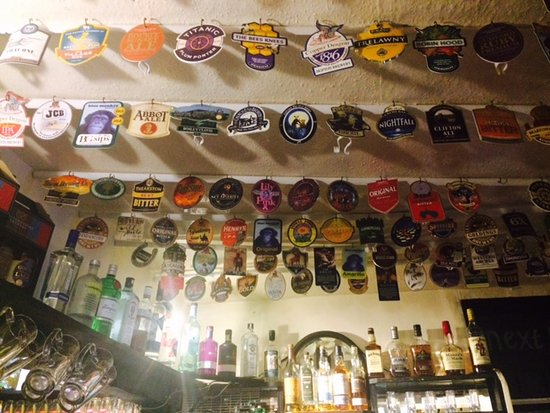 Wetton, UK: Guest beers we've tried.