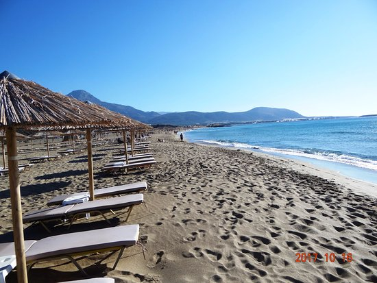 Falassarna, Greece: Der schöne Strand