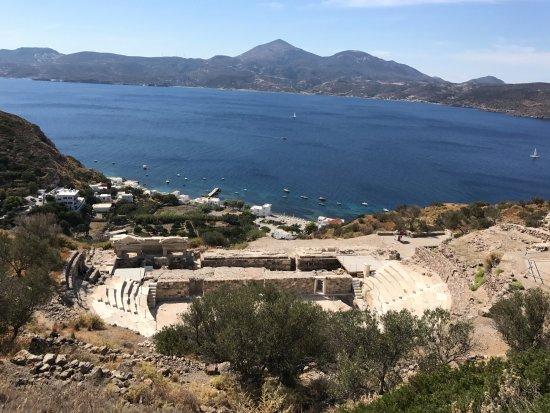 Tripiti, Grécia: Teatro desde arriba