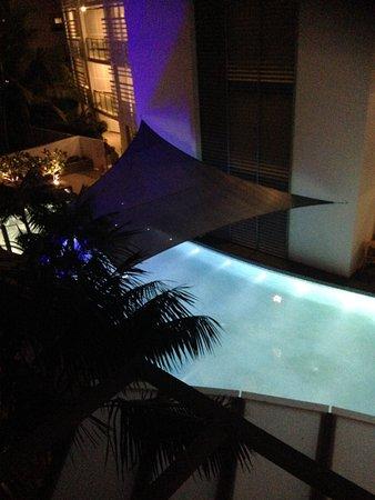 Rumba Beach Resort: Pool at night