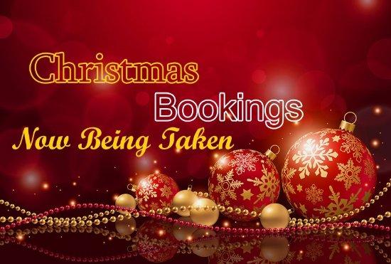 Somerton, UK: christmas menus available