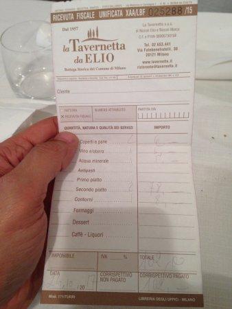 La Tavernetta da Elio, Milano - Brera - Ristorante Recensioni ...