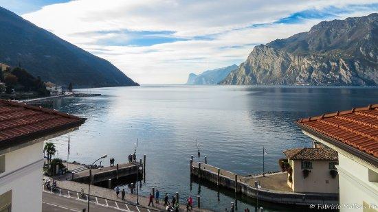 Hotel Lago di Garda : Stunning view from room of Lake Garda, Torbole taken by FMPhotos.