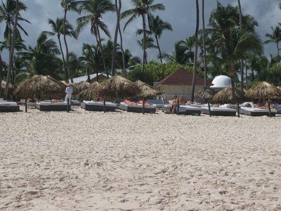 Bavaro Princess All Suites Resort, Spa & Casino: Vista area restrita clientes Platinum