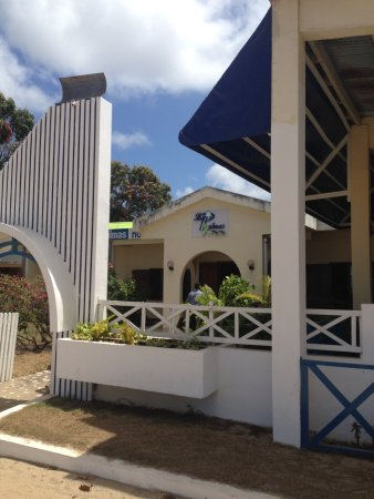 Sambava, Madagaskar: The bungalow hotel