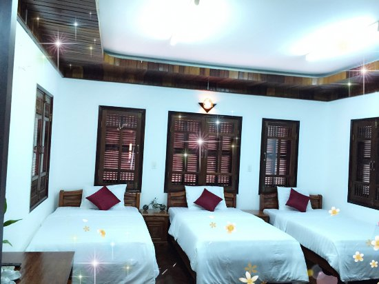 B'Lan Homestay: Triple room