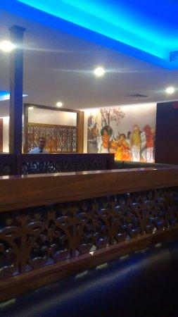 Azaiba, Oman: Anjapper Resturent Inside