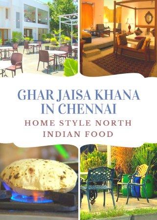 Sriperumbudur, India: Ghar jaisa khana In Chennai.