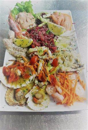 Santa Maria di Sala, Italy: antipasto V.I.P. la completezza del pesce