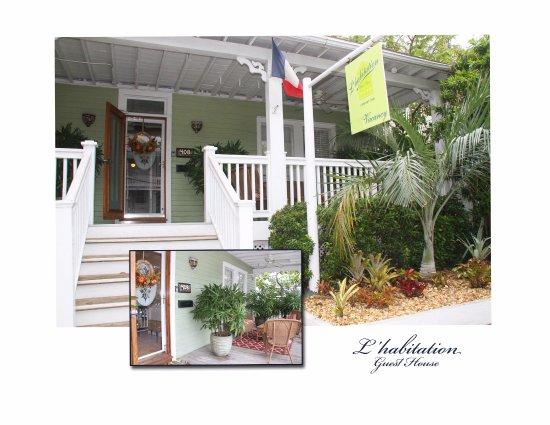 L 39 habitation b b key west floride voir les tarifs 36 for Tarif habitation