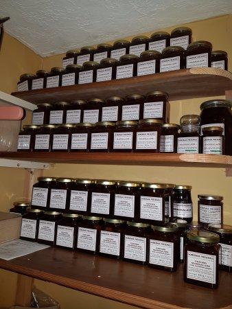 Kington, UK: Home-made marmalade