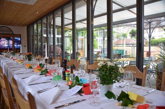 Wangen an der Aare, Ελβετία: Familienessen