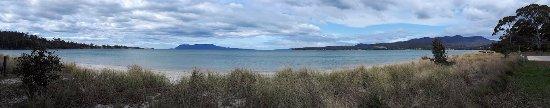 Orford, Australia: Beach and Maria Island