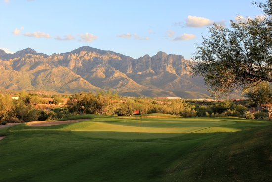 Oro Valley, AZ: Don't let the view distract you.