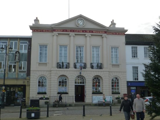 Ripon, UK: The Town Hall tourist office