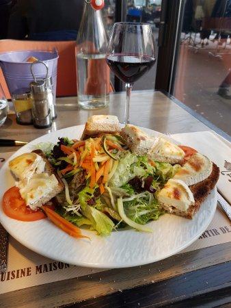 Saint-Mande, Francia: Salade Seguin