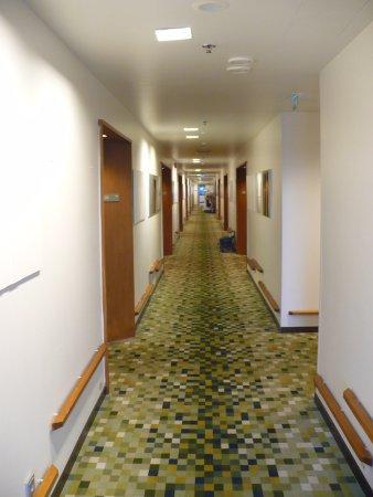 Вантаа, Финляндия: Room corridor
