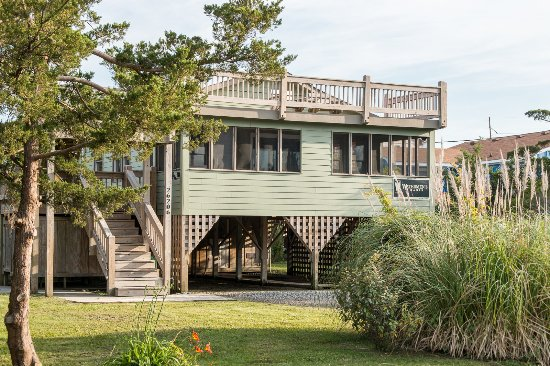 Waves, Carolina del Nord: Watermen's Oasis - 3 bedroom cottage pet friendly ocean side