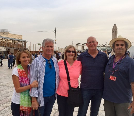 Zvika Bar Or Private Tours: At the western wall