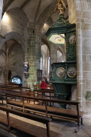 Locronan, Γαλλία: Eglise St Ronan
