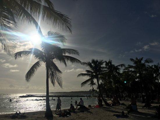 Spätnachmittag am Strand St. Anne Beach