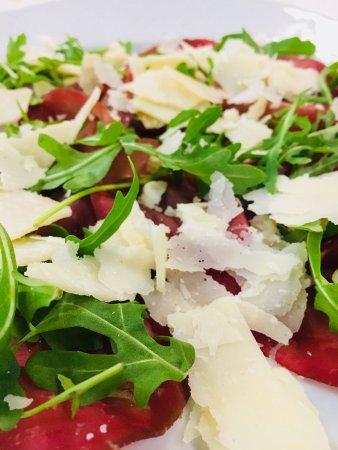 Caselle di Sommacampagna, Italy: Bresaola, rucola e parmigiano reggiano