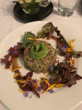 El Albergue Ollantaytambo: Quinoa salad