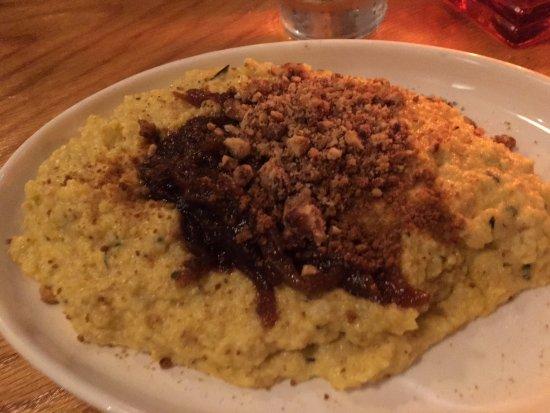 Newington, CT: Butternut squash polenta