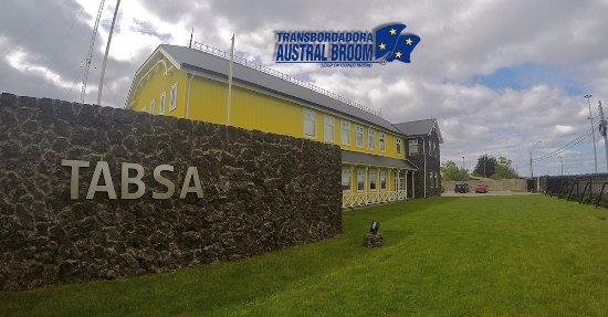 ปุนตาอาเรนัส, ชิลี: Oficinas Centras de Transbordadora Austral Broom S.A., TABSA, en Punta Arenas