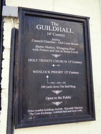 Much Wenlock, UK: Guildhall