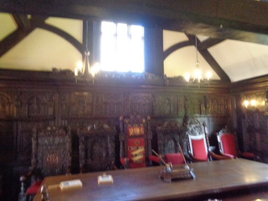 Much Wenlock, UK: The Council Chambers