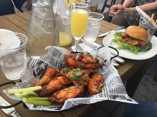 Ossining, NY: Mimosa and Wings -- Winner