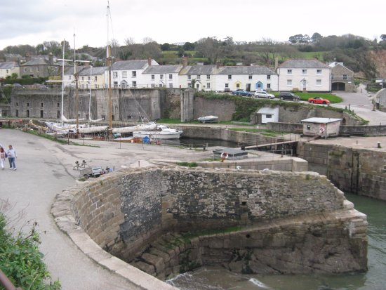 St Austell, UK: Charlestown Harbour