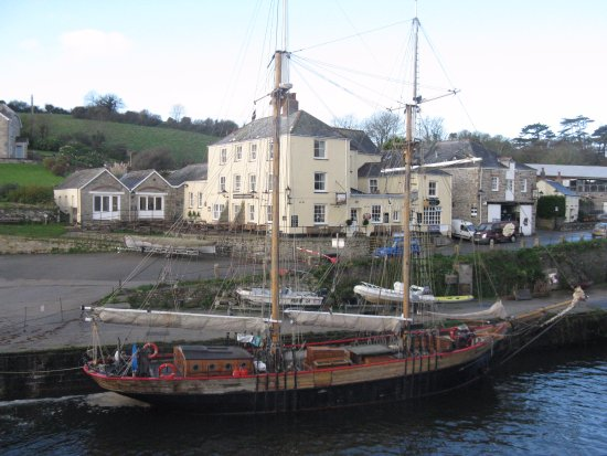 Historic Port Of Charlestown Harbour And The Pierhouse Hotel