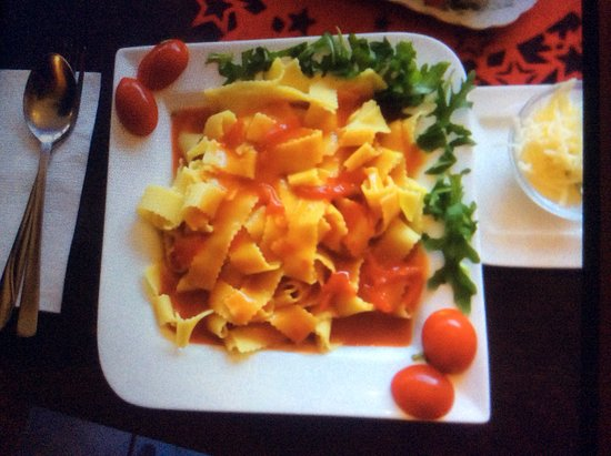 Dranske, Germany: Leckere Pasta